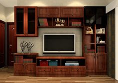 Korea-neoclassical-living-room-TV-cabinet-combo.jpg (1020×726)