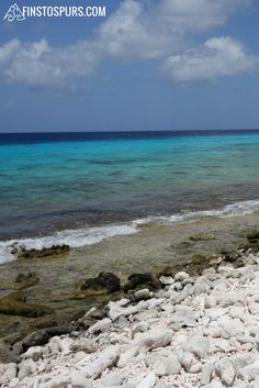 A beautiful, clear day in Kralendijk, Bonaire. We are so lucky to work and travel to see these places.