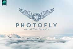 Photofly - Aerial Photography Logo by PenPal on @creativemarket