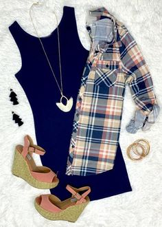 Penny Plaid Flannel Top: Berry/Blush top can be worn as long sleeves or a top. Flannel Fashion, Flannel Outfits, Mom Outfits, Cute Summer Outfits, Plaid Flannel, Everyday Outfits, Cute Fashion, Cute Outfits, Fashion Outfits