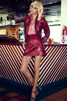 """""""70's Peru Roaming"""" Marique Schimmel by Alexander Neumann for Vogue Taiwan April 2015"""