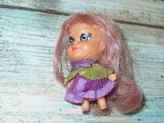 Vintage Mattel Liddle Kiddles Dolls Lot of 8 Lucky Locket Kolognes Violet Little | eBay