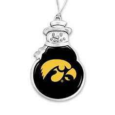 Iowa Hawkeyes Snowman Christmas Ornament Sports Team Acce... https://www.amazon.com/dp/B01N3PNYB8/ref=cm_sw_r_pi_dp_x_f0koybYJF54M1