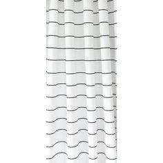 Emile Stripe Cotton Onyx Horizontal Striped Curtains Stripe