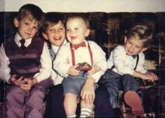 kings of leon when they were kids childhood photo