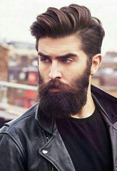 60 Awesome Beards For Men - Masculine Facial Hair Ideas Hairstyles Haircuts, Haircuts For Men, Trendy Hairstyles, Beard Styles For Men, Hair And Beard Styles, Long Hair Styles, Great Beards, Awesome Beards, Chris John Millington