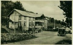 Telemark fylke Tokke kommune Høydalsmo Hotell Langaard Utg Normann 1920-tallet