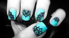 Tiffany blue lace