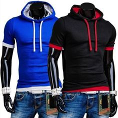 T-shirt Men Cotton Summer O-Neck collar Solid Shirt, T-shirt 2015 Men T-shirt #top #fitnessapparel #activewear #amalhantashfitness #sportswear #blouse #tshirt #shirt