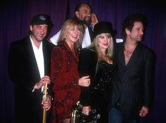Fleetwood Mac at the Bill Clinton inauguration party in Washington - January 20, 1993.