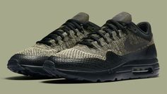 AUTHENTIC Nike Air Max 1 Ultra Olive Black Sequoia # 856958203 Men sz
