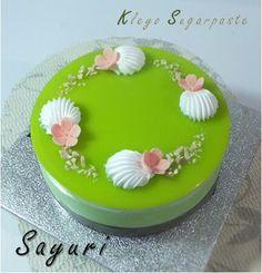 Sayuri cake, Kleyo Sugarpaste jakarta Indonesia