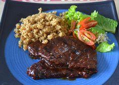 Posta Negra Cartagenera Ketogenic Recipes, Diet Recipes, Vegan Recipes, Colombian Food, Colombian Recipes, Latin Food, Spanish Food, Entrees, Food And Drink