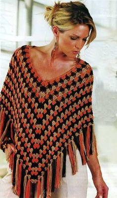 Crochet gold: Poncho square!