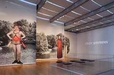 MoMA | Cindy Sherman Interactive Project - interesting method for segmenting gallery types (IE disciplines - building projects, interiors, etc.) in a visual way