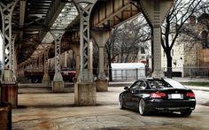 Black BMW 335i Wallpaper HD Widescreen
