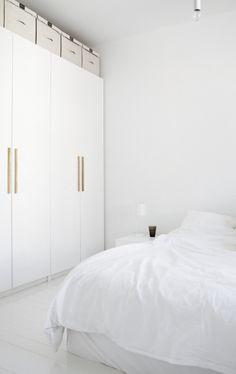 white, white, white bedroom