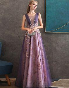 Rochie de ocazie mov Serena Prom Dresses, Formal Dresses, Ball Gowns, Outfit, Blazer, Winter, Style, Fashion, Purple Evening Dress