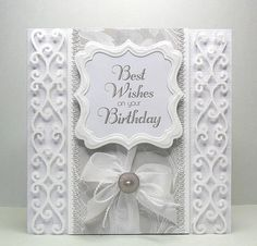 Bird's Cards - Swirl Borders