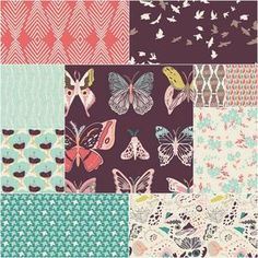Winged Fat Quarter Bundle in Southern Migration ~ Would love to make a fat quarter quilt out of this and the Northern Migration Bundle