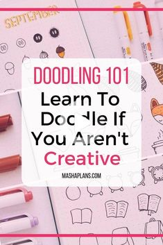 Do you want to learn how to doodle? This post will explain how to learn to draw cute doodles even if you haven't ever doodled before and aren't artistic! #bulletjournalideas Bullet Journal Police, How To Bullet Journal, Bullet Journal Spread, Bullet Journal Ideas Pages, Bullet Journal Inspiration, Art Journal Pages, Bullet Journal Project Planning, Bullet Journal Ideas Handwriting, Bullet Journal Period Tracker