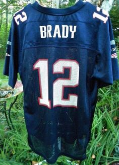 e16d7b76 Details about Tom Brady NFL NE Patriots Superbowl XXXIX 2004 Jersey Reebok  Youth XL Wmns Small