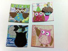 Owl twinchies, via Flickr, Honeybeehi
