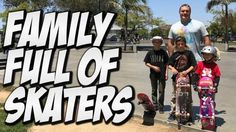 FAMILY FULL OF SKATERS !!!! – A DAY WITH NKA – – Nka Vids Skateboarding: Source: nigel alexander