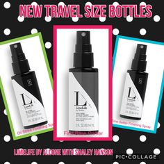 LimeLife by Alcone with shaley Hanson Finishing Spray Priming spray First Base Primer Oil strike Time setter Makeup Finishing Spray, Travel Size Bottles, Travel Size Products, It Is Finished, Base, Journey
