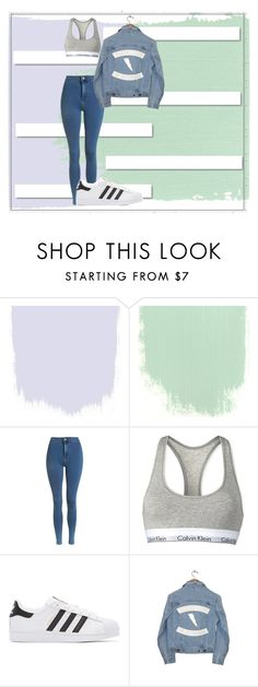 """""""Untitled #179"""" by flo-wer on Polyvore featuring White Label, Topshop, Calvin Klein, adidas Originals and Understated Leather"""