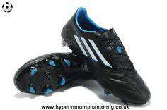 (Black White Blue) TRX FG Leather Adidas F50 AdiZero