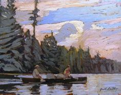 Garth Armstrong - Hombome Lake Algonquin 8 x 10