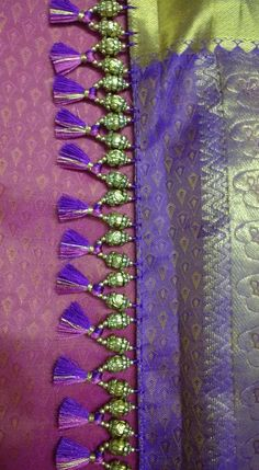 Saree Kuchu Designs, Rangoli Designs, Mehndi Designs, Indian Hairstyles For Saree, South Indian Hairstyle, Latest Gold Ring Designs, Indian Peacock, Peacock Rangoli, Saree Tassels