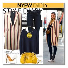 """""""NYFW in PaoloShoes"""" by spenderellastyle ❤ liked on Polyvore featuring AG Adriano Goldschmied, Lanvin, women's clothing, women, female, woman, misses and juniors"""
