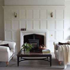 What comes to your mind when it is all about a fireplace? Well, a fireplace works as the heart of . Read Comfortable Fireplace Decor Ideas For White Walls Fireplace Update, Cozy Fireplace, Fireplace Surrounds, Fireplace Design, Fireplace Molding, Fireplace Mantles, Fireplace Ideas, Fireplace Makeovers, Fireplace Modern