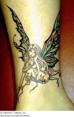 Beautiful Fairy Tattoos Legends of fairies go back hundreds of years, if not longer. These small, human-like creatures are often said to symbolize a love and respect for nature. In modern times, they have also taken on a variety of other meanings.