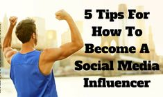 How To Become A Social Media Influencer? Online Marketing, Digital Marketing, S Diary, Twitter Followers, Social Media Services, Social Media Influencer, Gain, Tank Man, How To Become
