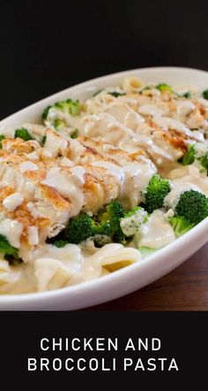 The Delicious Chicken And Broccoli Pasta Recipe- Here is a delicious chicken recipe to add to your menu. The delicious chicken and broccoli pasta recipe is fast and easy to make. This healthy recipe is sure to be a big hit with your whole family. Yummy Chicken Recipes, Yum Yum Chicken, Beef Recipes, Soup Recipes, Salad Recipes, Dinner Recipes, Healthy Recipes, Broccoli Pasta, Chicken Broccoli