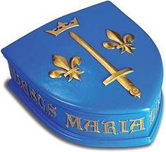 Boîte Médiévale Blason Jeanne D'Arc