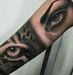 Tiger ~•~ Woman eye