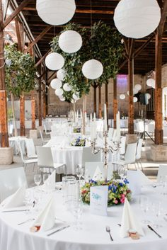 Hochzeitslocation Gare du Neuss I Hochzeitsfotograf I NRW I Tischdekoration I…
