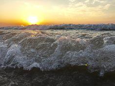 De zee blijft altijd boeien.....