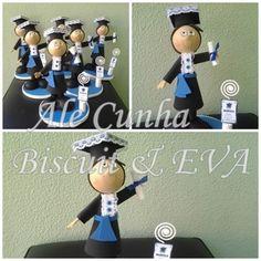 Lembrancinha de Formatura em EVA - Curso Gestão de Recursos Humanos