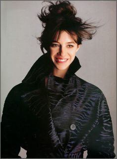 Charlotte Gainsbourg shot by Marc Audibet for Salvatore Ferragamo c 2000. If anyone knows the original image source please let me know!