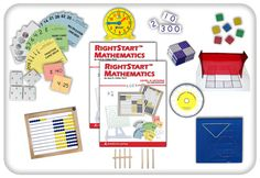 Right Start Mathematics curriculum, Level A (classic abacus, since I felt like going for wood!). Fantastic, fantastic, fantastic. That is all.