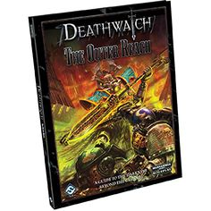 Deathwatch RPG The Outer Reach Fantasy Flight Games Warhammer Books, Warhammer 40000, Deathwatch, Book Cover Design, Sword Art, Online Games, Science Fiction, How To Find Out, Fantasy