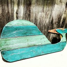 Wood Whale  Whale  Beach Decor  Wooden Whale  by PaePaesPlace