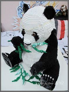 Lego Pandas: A LEGO® creation by Schfio Factory : MOCpages.com