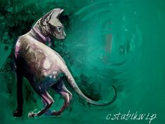 Painting by me Drawing S, Moose Art, Cats, Artwork, Painting, Animals, Gatos, Work Of Art, Animales