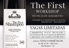 Workshop sobre técnicas de alisamento em Rio Branco, Acre. Confira! #sweethairprofessional #thefirstsweethair